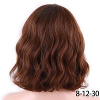 Short Water Wave Synthetic Hair 8Colors®