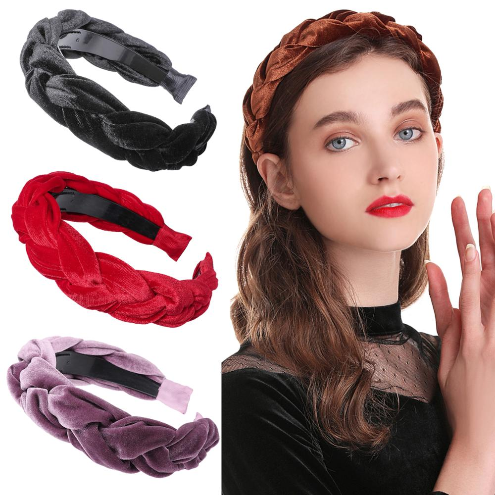 Thick Wide Velvet Headband ®