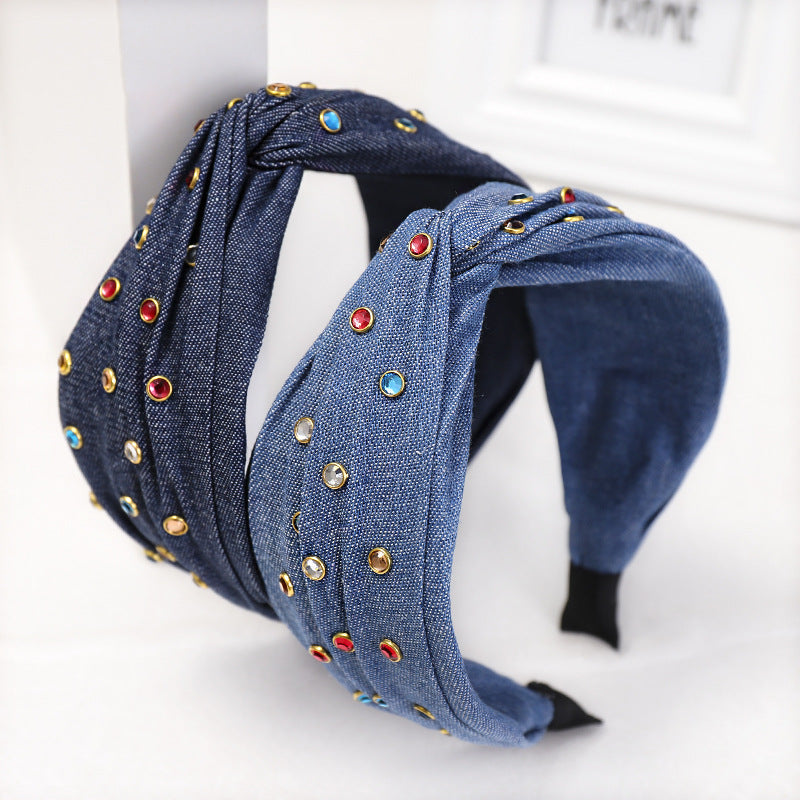 Colored Rhinestone Hairband ®