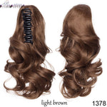 Claw Jaw in Hairpiece Synthetic Clip in Hair tail®