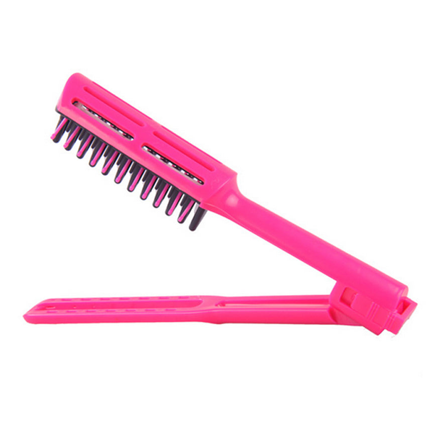 Heat Resistant And Antistatic V Straight Comb/Brush ®
