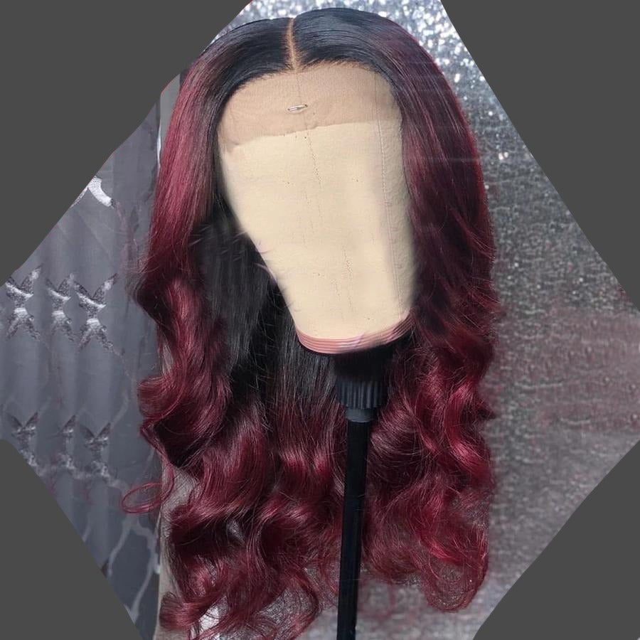 Colored Lace Front Human Hair Wig®