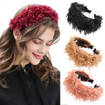 New Fall Trendy Look | Plush Solid Color Headband ®