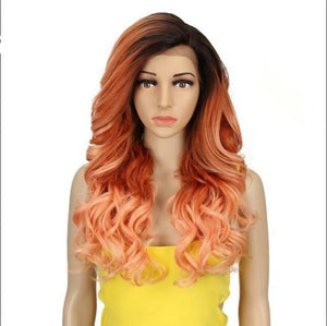 Synthetic Wig Long Wavy 22 Inch Wigs® Heat Friendly Fiber