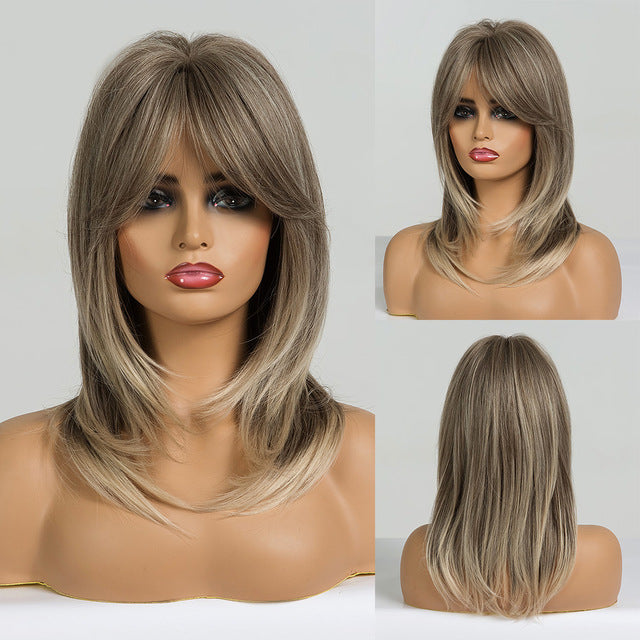 Double shade medium Wigs ®