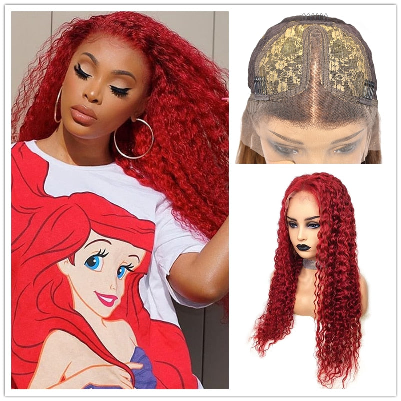 Really Red | Wavy Lace Front Human Hair Wig( Brazilian Hair)