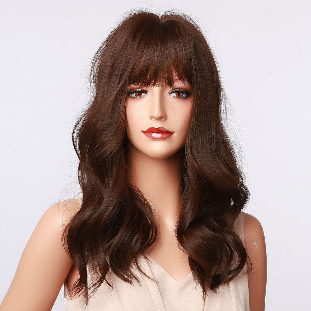Beach Waves | Heat-Friendly Fiber Synthetic Wig (Basic Cap)