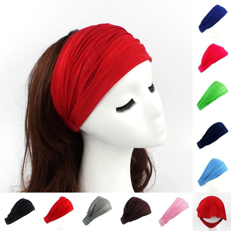 Cotton Hairband/Neck Head Scarf Cap 2 in 1 ®