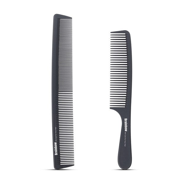 2pc Hair Anti-Static Carbon Comb