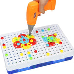 Screw N' Assemble Electric Drill Puzzle Toy