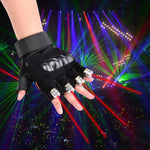 LED Laser Rave Glove