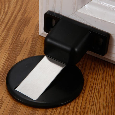 Minimalist Magnetic Doorstop (Stainless Steel Design)