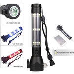 9-in-1 Multi-Function Tactical Flashlight