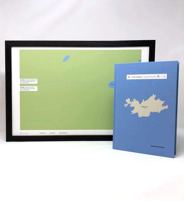 Limited Edition - Damien Rudd & Cécile Coulon, Triste Tropique Topographies of Sadness