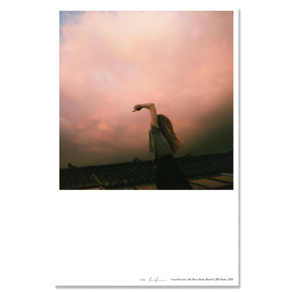 Lina Scheynius - Limited Edition Poster - My Photo Books, Book 01 (/50)
