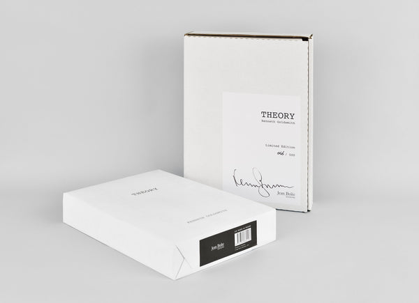 Kenneth Goldsmith - Limited Edition - THEORY (/500)