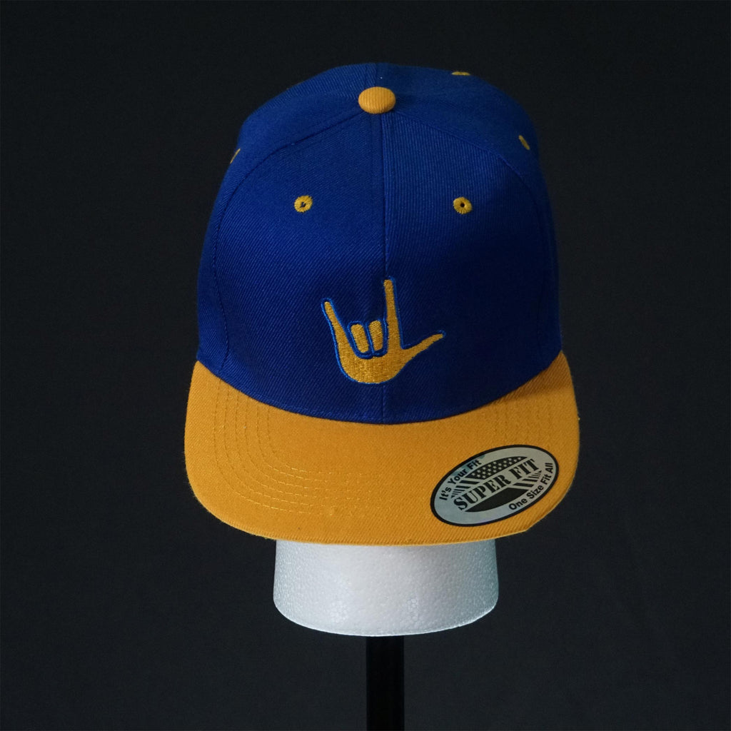 ILY Blue Gold Snapback