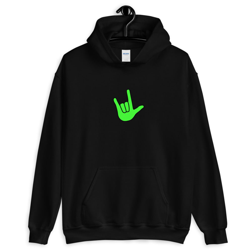 ILY Green Pullover Hoodie