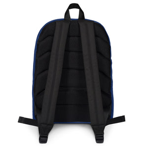 Deaf Navy Box Backpack