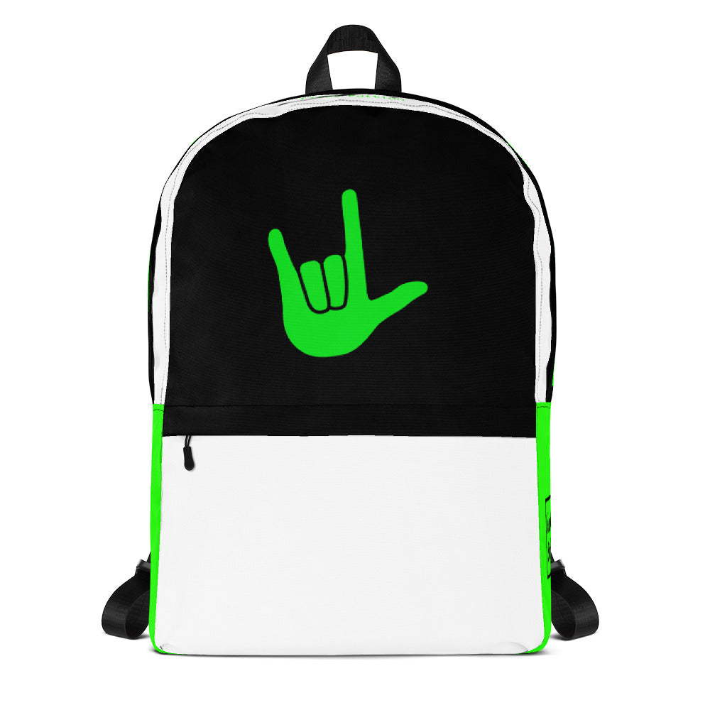 ILY Green Backpack