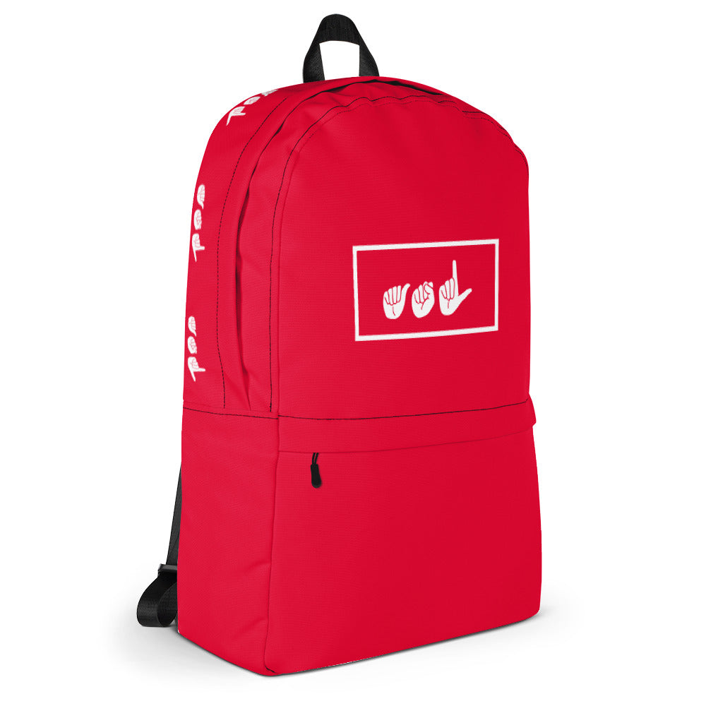 ASL Red Box Backpack