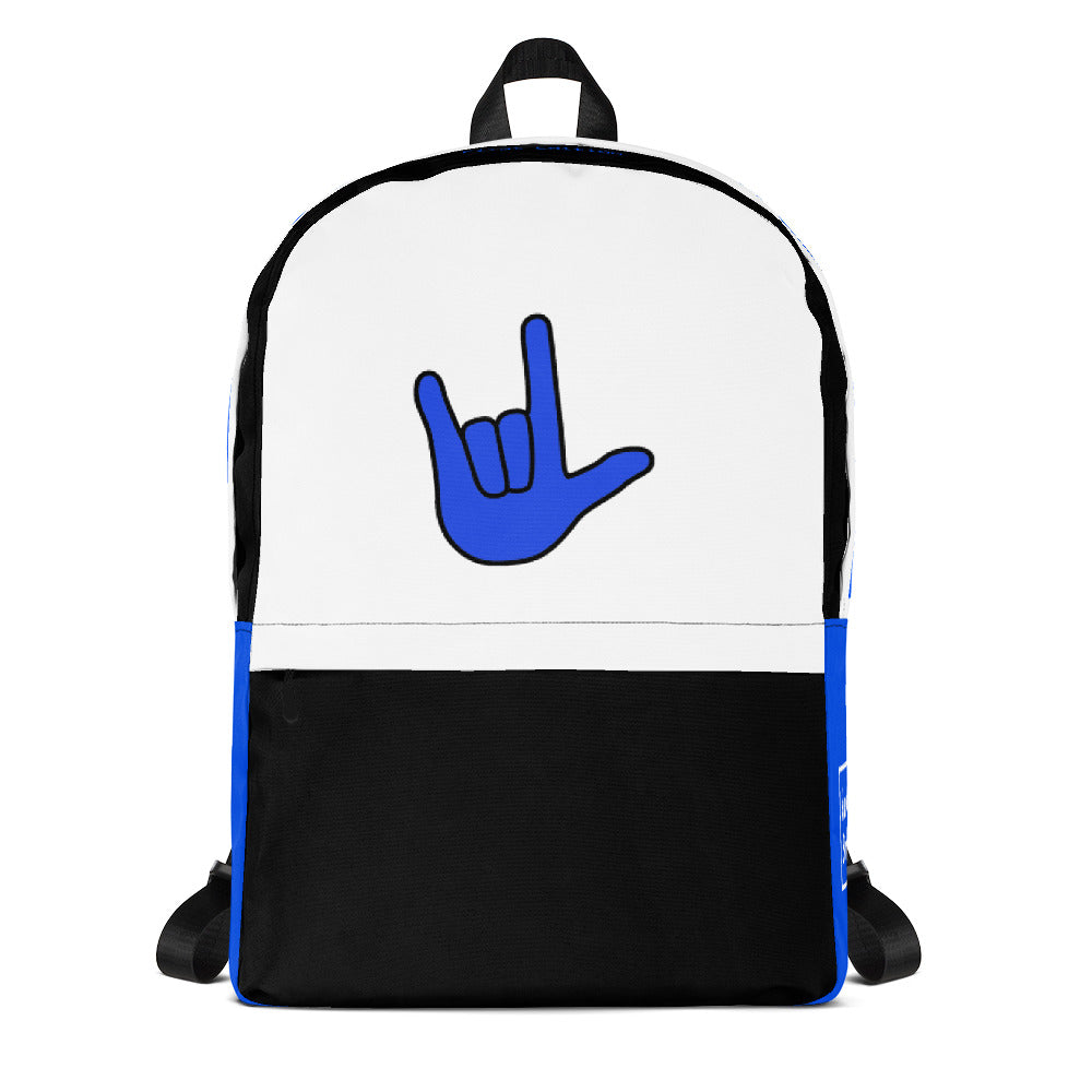 ILY Blue Backpack