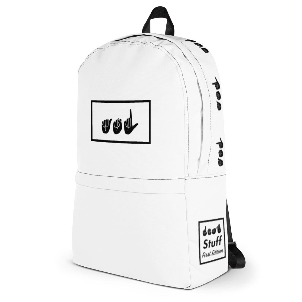 ASL White Box Backpack