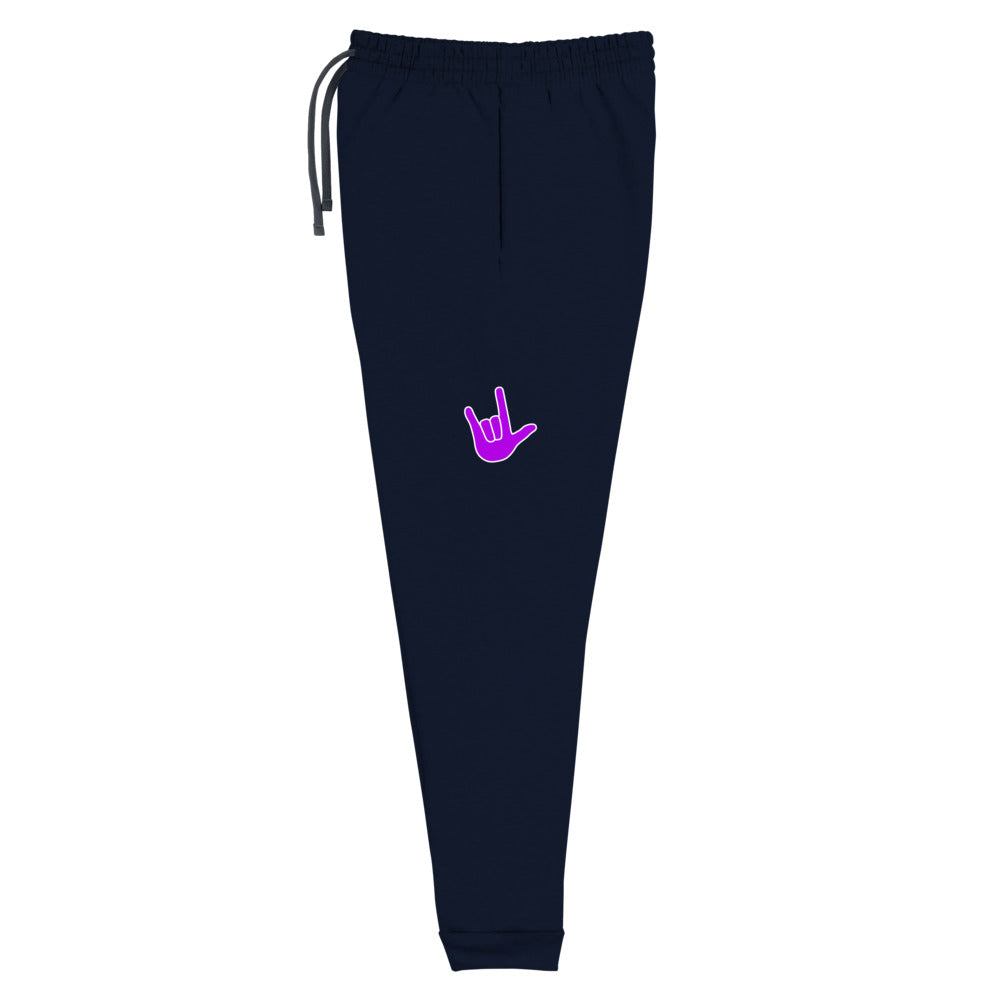 ILY Purple Joggers