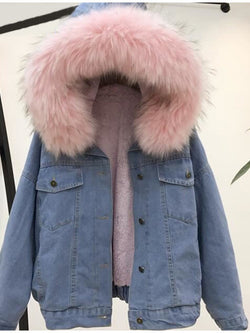 WARM JACKET LOOSE PADDED COAT