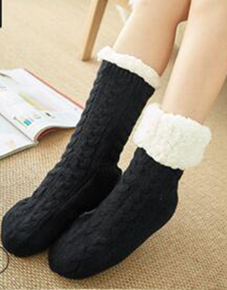 THICK WINTER WARM COZY FLEECED SOCKS