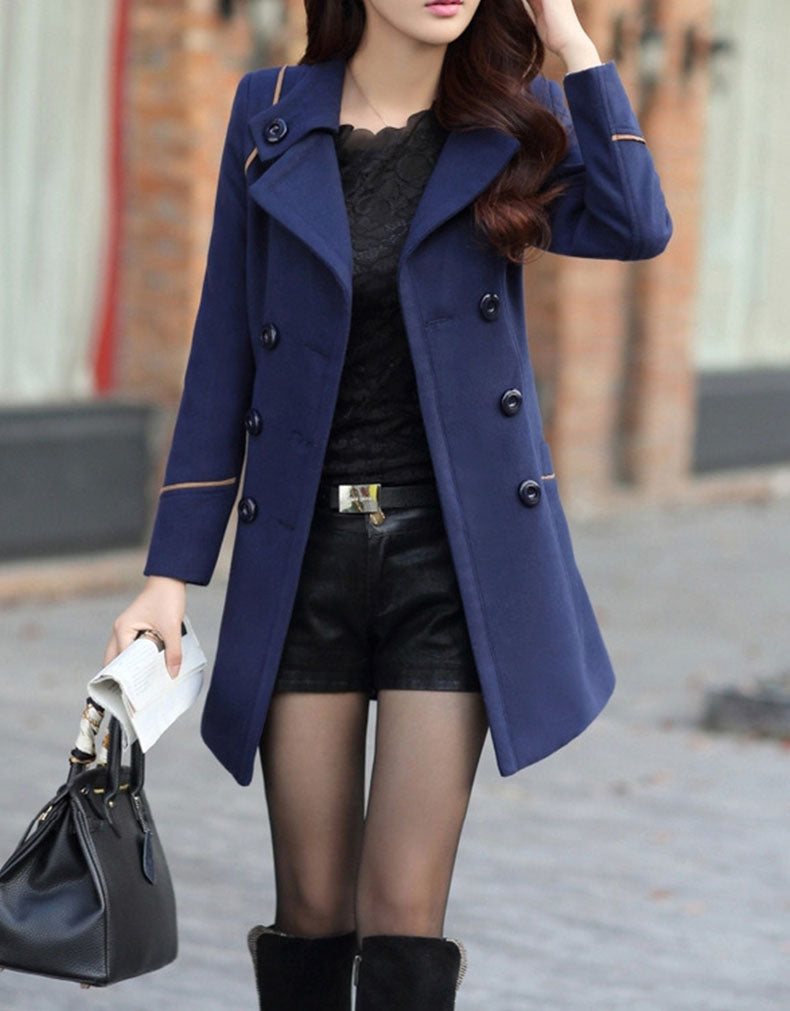 SLIM LONG-SLEEVED COAT