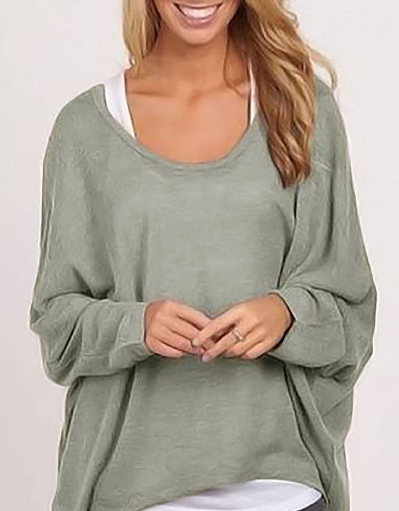 LOOSE WOMEN'S IRREGULAR T-SHIRT