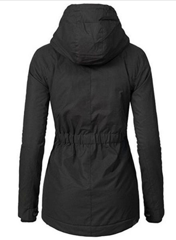 COTTON  WINTER WOMEN'S FASHION SLIM CASUAL JACKET