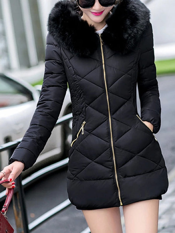 SLIM SLIMMING WOMEN'S DOWN JACKET