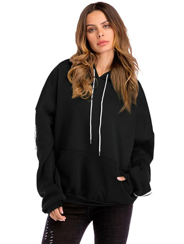 Hooded Pocket Oversize Sweater