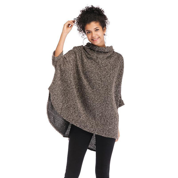High Neck Cloak sweater