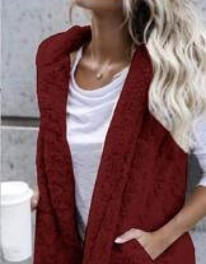 HOODED PUFF JACKET