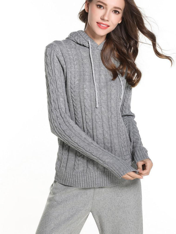 Slim Thick Line Knit Warm Sweater Kniter