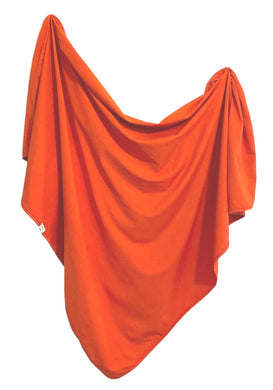 Organic Cotton Swaddle - Rust