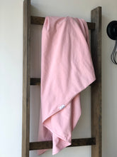 Load image into Gallery viewer, Organic Cotton Swaddle - Blush (pink)