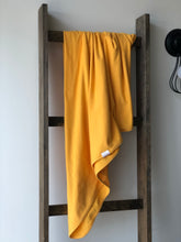 Load image into Gallery viewer, Organic Cotton Swaddle - Mustard