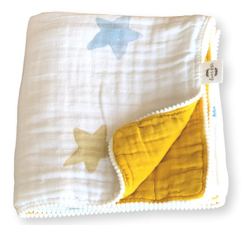 Organic Cotton Muslin Quilt - Dream