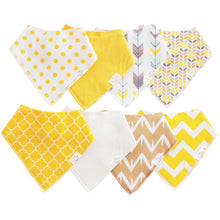 Load image into Gallery viewer, Organic Bandana Bibs - Haven