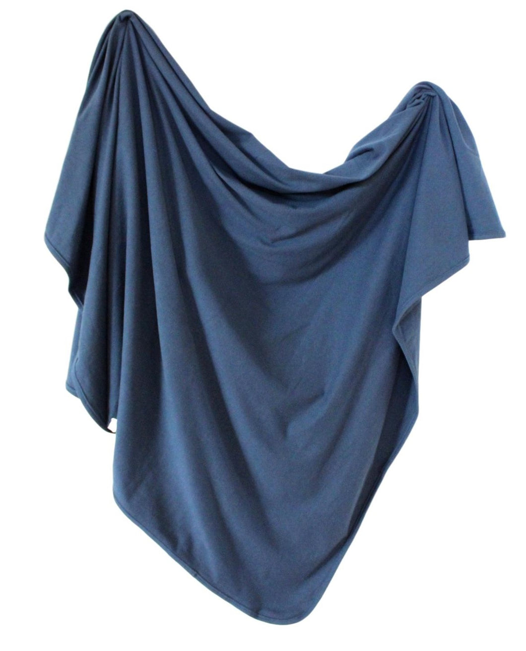 Organic Cotton Swaddle - Navy
