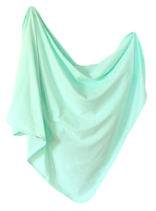 Organic Cotton Swaddle - Mint