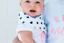Load image into Gallery viewer, Organic Bandana Bibs - Hazel