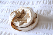 Load image into Gallery viewer, Organic Cotton Swaddle - Oat (natural/taupe)
