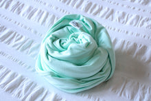 Load image into Gallery viewer, Organic Cotton Swaddle - Mint