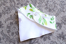 Load image into Gallery viewer, Organic Bandana Bibs - Sage