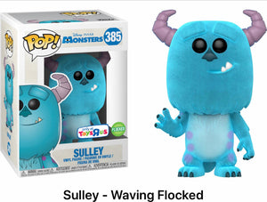 Sulley- Waving Flocked